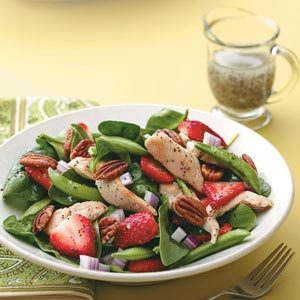 Chicken Poppy Seed Salad