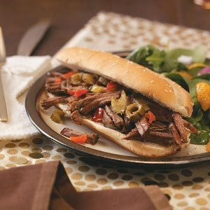 Chicago-Style Beef Sandwiches