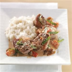 Tuscan Pork Medallions Recipe