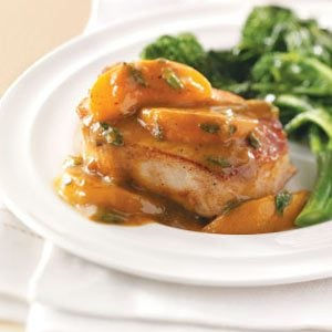 Curried Apricot Pork Chops Recipe