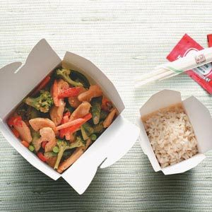 Thai Chicken Stir-Fry for Two Recipe
