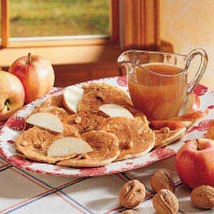 Apple Nut Hotcakes Recipe