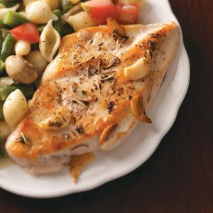 Tuscan Chicken for Two Recipe