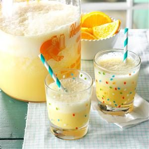Morning Orange Drink Recipe