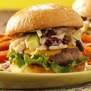 Sausage Sliders with Cran-Apple Slaw Recipe