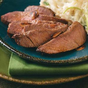 Whiskey Sirloin Steak for Two Recipe