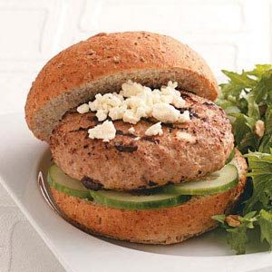 Healthy Turkey Burgers for Two Recipe