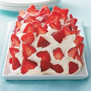 Frozen Strawberry Delight Recipe