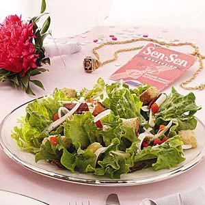 Bacon & Cheese Salad Recipe