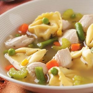 Chicken Tortellini Soup Recipe