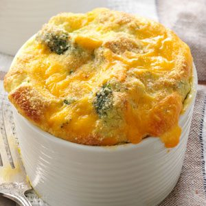 Decadent Broccoli Souffle Recipe