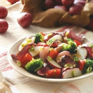 Steak & New Potato Toss for Two Recipe