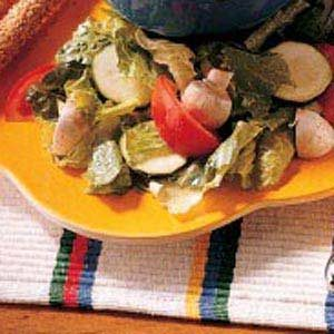 Tossed Salad with Vinaigrette Recipe