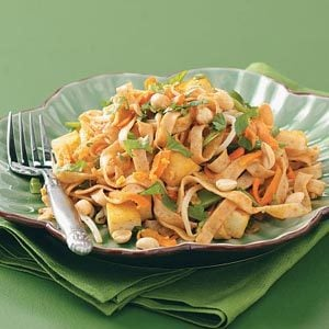 Vegetable Pad Thai Recipe photo by Taste of Home
