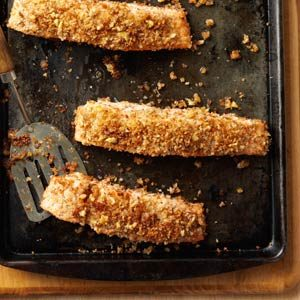 Walnut-Crusted Salmon Recipe