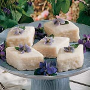 Sugar Glazed Violets Recipe