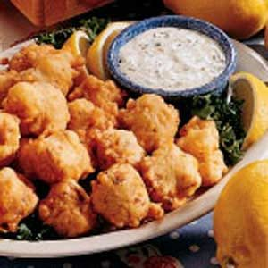 Clam fritters recipe taste of home clam fritters recipe sciox Gallery