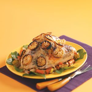 Lemon-Basil Turkey Breast Recipe