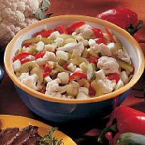 Seven-Vegetable Salad Recipe