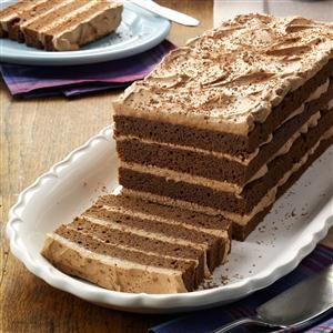 Chocolate Lover's Mousse Torte Recipe