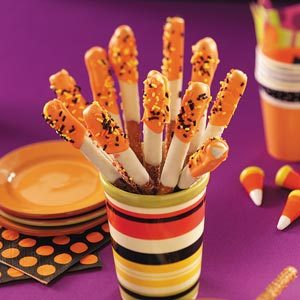 Halloween Pretzel Treats