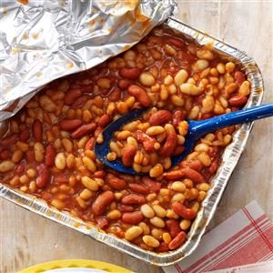 Quick Barbecued Beans Recipe