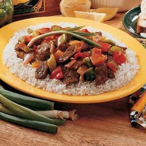 Curried Beef Stir-Fry