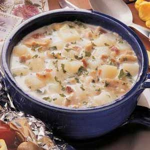 Clam Chowder for One Recipe