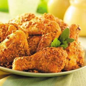 Nutty Oven-Fried Chicken