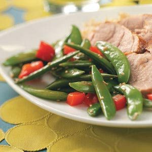 Sesame Snap Peas Recipe