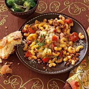 Stovetop Italian Macaroni Recipe
