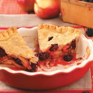 Apple & Blackberry Pie Recipe