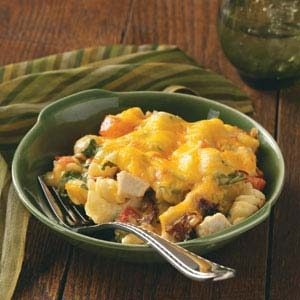 Chicken Club Casseroles Recipe