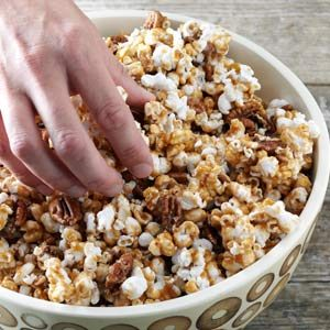 Maple Crunch Popcorn