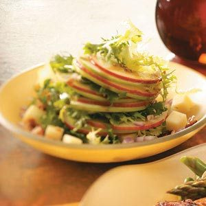 Apple Salad with Maple Vinaigrette Recipe