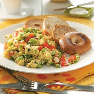 Vegetable Scrambled Egg Substitute Recipe