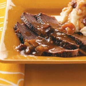 Spiced Cran-Apple Brisket