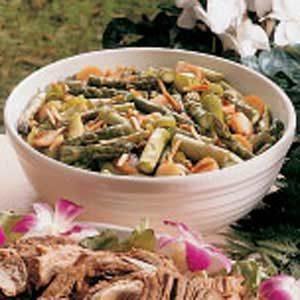 Crunchy Asparagus Medley Recipe
