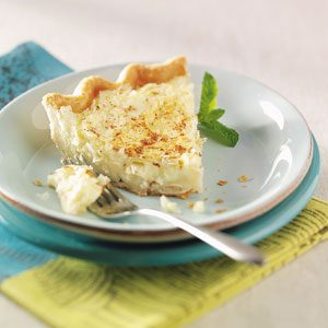 Can't Miss Coconut Custard Pie Recipe