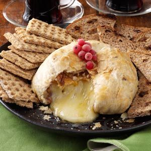 Peach Baked Brie Recipe