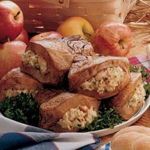 Apple-Stuffed Pork Chops Recipe
