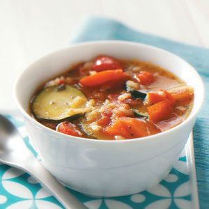 Ziploc Garden Vegetable Soup