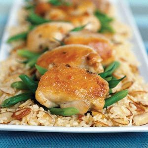 30 Minute Almond Chicken Recipe