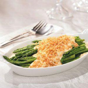 Asparagus Parmesan Au Gratin Recipe