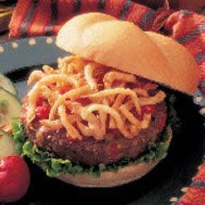 Ranchero Onion Burgers Recipe