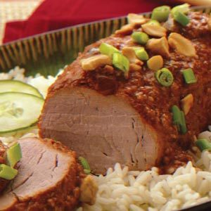 Asian-Style Pork Tenderloin Recipe
