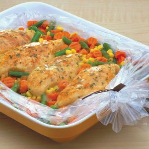 Creamy Chicken & Vegetables Recipe