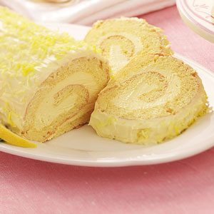 Elegant Lemon Cake Roll Recipe