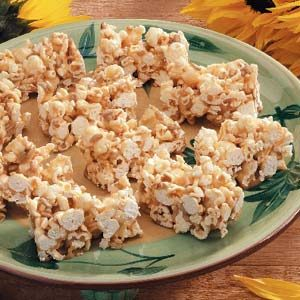 Ziploc Sunflower Popcorn Bars Recipe