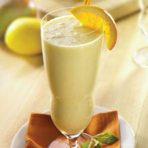 Orange Mango Smoothie Deliciousness